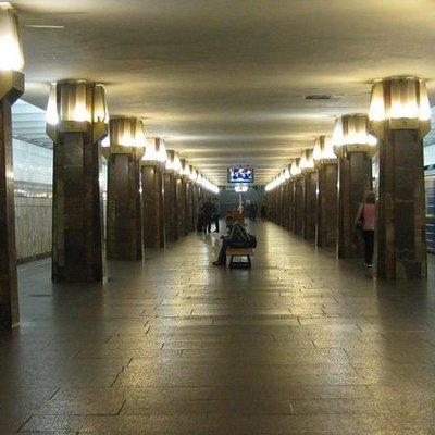 В Киеве «заминировали» станцию метро