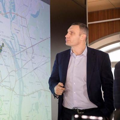 Кличко: Контролировать ситуацию со снегопадами в Киеве помогает система видеомониторинга