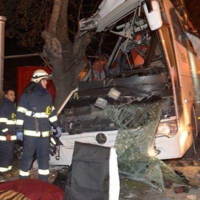 В Турции в автокатастрофу попал туристический автобус, большое количество погибших
