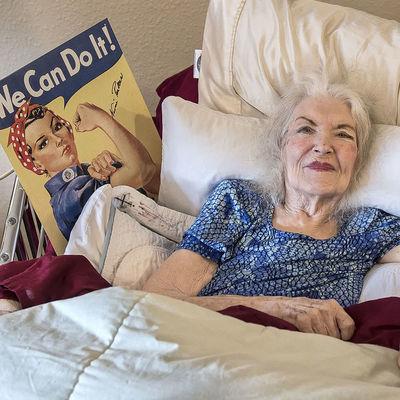 Умерла известная модель со знаменитого плаката We can do it!
