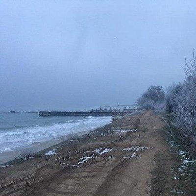 В Одессе из-за холодов испаряется Черное море