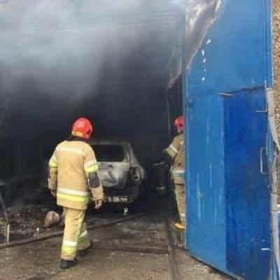 В Киеве прогремел взрыв на СТО