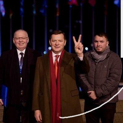 Олег Ляшко носит шарфик почти за 10 000 грн