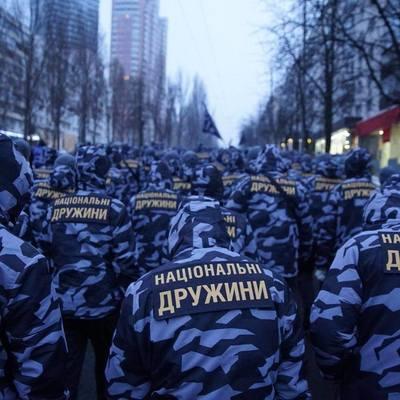 В Киеве митинговали против создания «Национальных дружин»