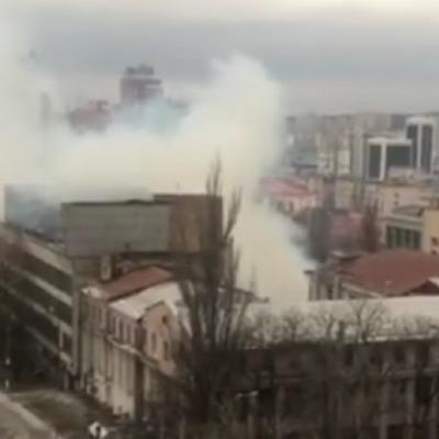 На столичном заводе «Радар» вспыхнул пожар