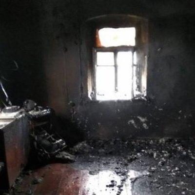 В Запорожской области заживо сгорел мужчина на пожаре