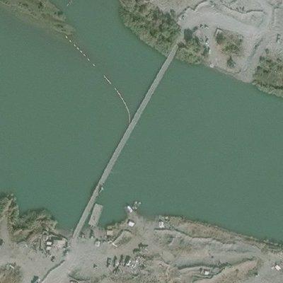 В Сирии обрушился и затонул построенный российскими военнымимост через реку (фото)