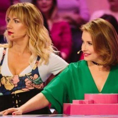 Елена Кравец и Леся Никитюк пришли на шоу в одинаковых нарядах