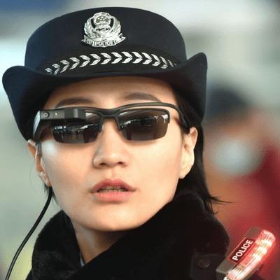 Китайская полиция начала использовать смарт-очки для выявления преступников