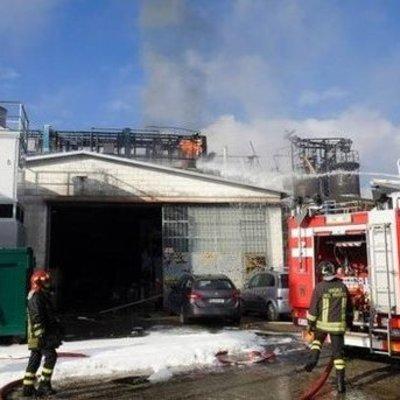В Италии прогремел мощный взрыв на заводе химотходов, пострадали люди