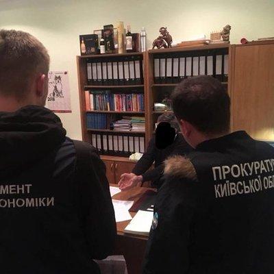 На взятке в 15 тыс. долларов пойман арбитражный управляющий на Киевщине (фото)