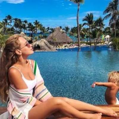 Яна Соломко показала, чем занимается в Доминикане