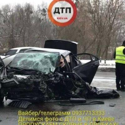 В Киеве во время ДТП погиб полицейский