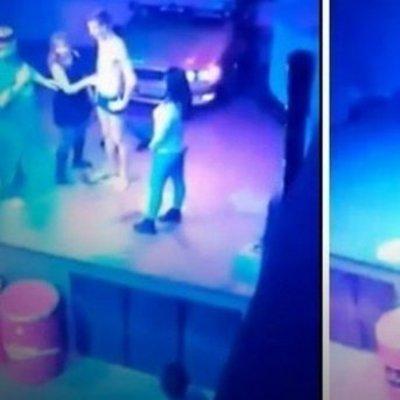 Россиянка занялась оральным сексом на сцене ночного клуба за коктейль (18+)