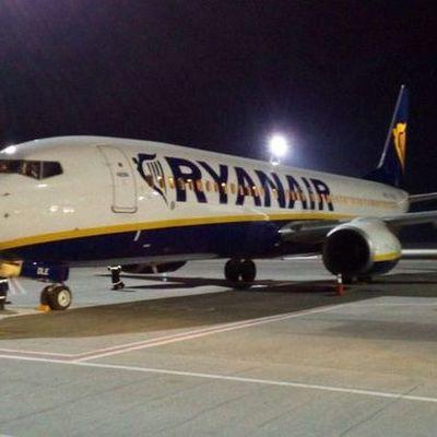 В Борисполе приземлился первый самолет лоукостера Ryanair