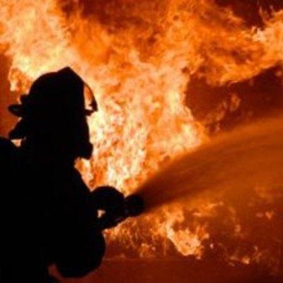 В Киеве произошел пожар на балконе многоэтажного дома