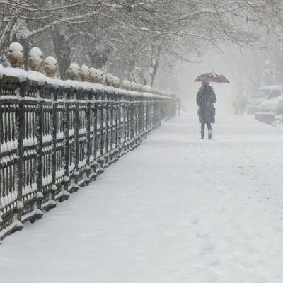 Украину скуют лютые морозы