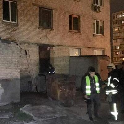 В Киеве в 9-этажке сгорел мужчина