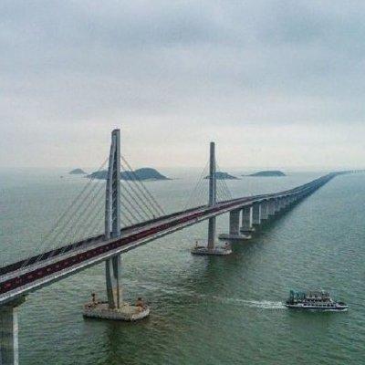В Китае построили самый длинный мост в мире (фото)