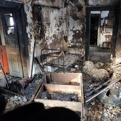 Во время пожара погибли мать и сын в Ровенской области