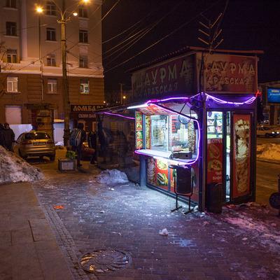 В Днепре неизвестные напали на продавцов шаурмы (фото)