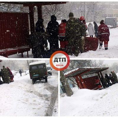 На улице Райдужная в Киеве двух людей настигла смерть