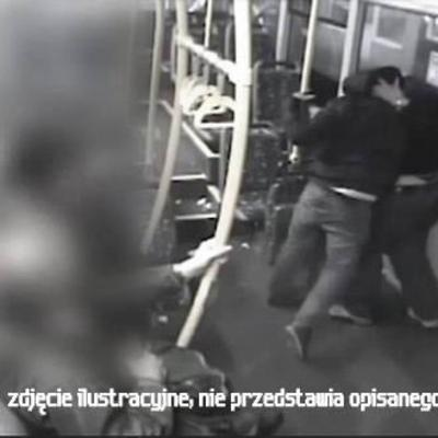 «Украинская к*рва»: в Польше в трамвае избили украинца (фото)