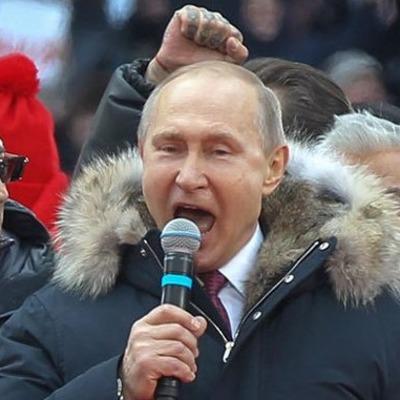 «Не Кремль, а Владимирский централ»: в соцсетях высмеяли фото с Путиным и наколкой