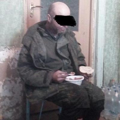 В зоне АТО захватили в плен боевика из Российской Федерации