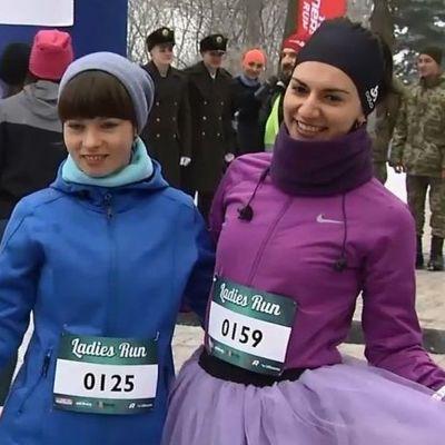 В Киеве в ежегодном «женском» забеге победил мужчина