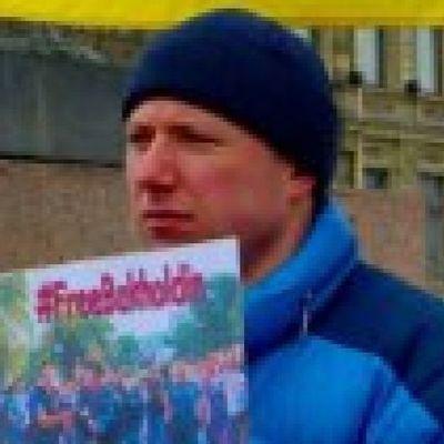 В России напали на активиста, который пикетировал с украинским флагом