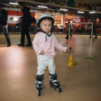 В Киеве ребенок установил «роликовый» рекорд
