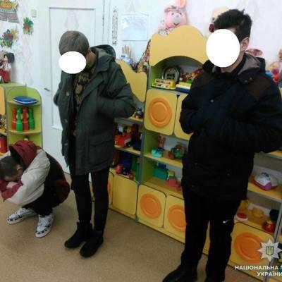 В Киеве трое мужчин решили ограбить детсад