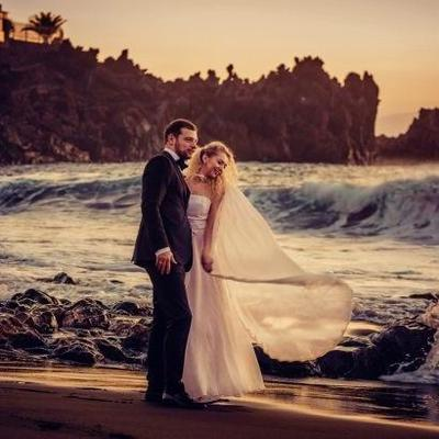 Известная украинская дизайнер вышла замуж на Канарских островах (фото)