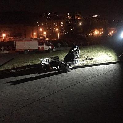 Во Львове произошел взрыв возле польского Мемориала орлят