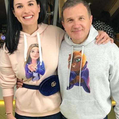 Маша Ефросинина пришла в кино с сумочкой за 27 тысяч гривен (фото)