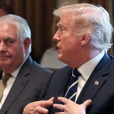 Рекс, ешь! Трамп заставил Тиллерсона есть испорченный салат