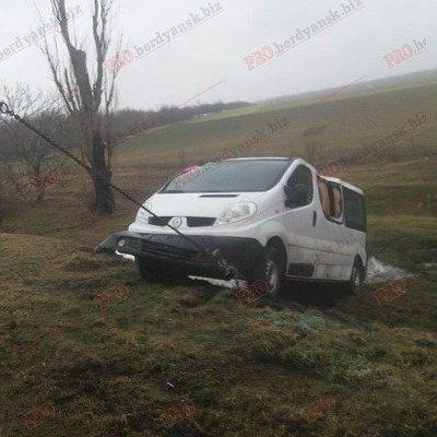 В Запорожской области перевернулась машина с детьми