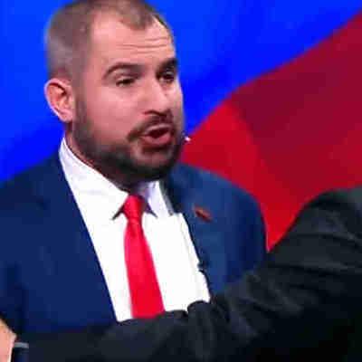 В России на дебатах кандидаты в президенты устроили драку