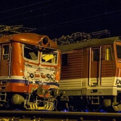 В Словакии столкнулись два поезда