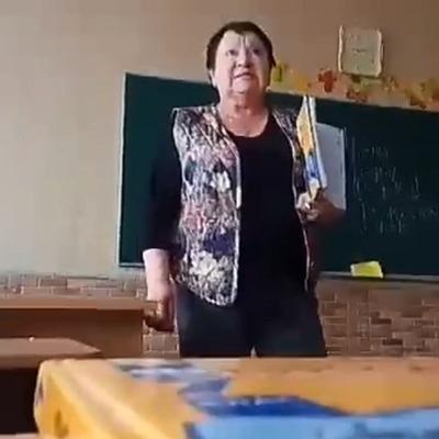 Под Киевом учительница оскорбляла ученика во время урока