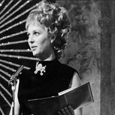 В Великобритании умерла знаменитая ведущая Евровидения