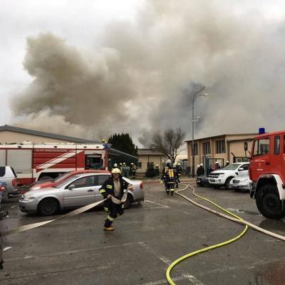 В Чехии на химическом заводе произошел взрыв