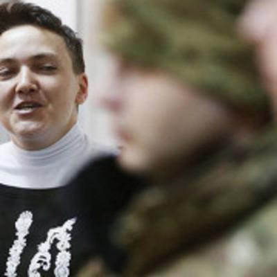 Савченко в СИЗО пожаловалась на видеонаблюдение и тонированные окна