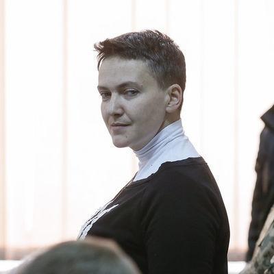 Савченко в СИЗО из-за головки похудела