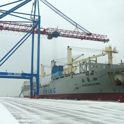 Китайцы привезли в Украину мобильный асфальтный завод