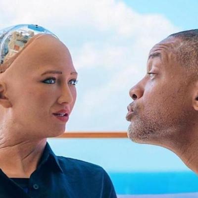 Робот София устроила Уиллу Смиту адское свидание