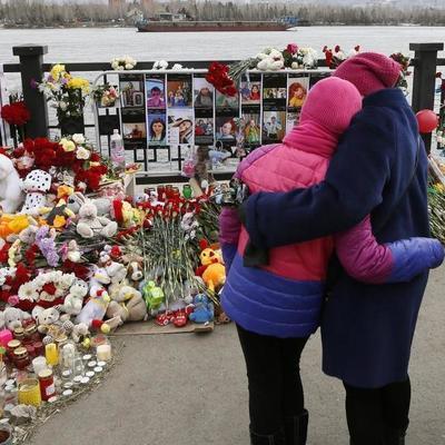В Кемерово на траурный митинг пришли 20 человек