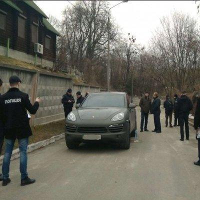 В центре Киева избили иностранца