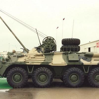 В Харькове начато производство бронированных ремонтно-эвакуационных машин (БРЭМ) Атлет (видео)